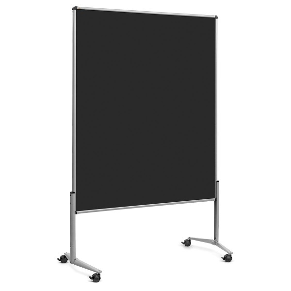 EuroPin® UT Slide Pinboard: grey alu/black foam board