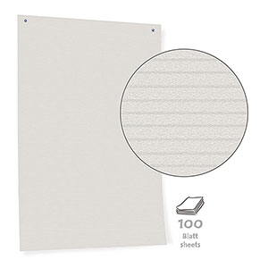 Pinboard Paper, white, 100 sheets/box